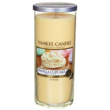 Duży pilar Vanilla Cupcake Yankee Candle