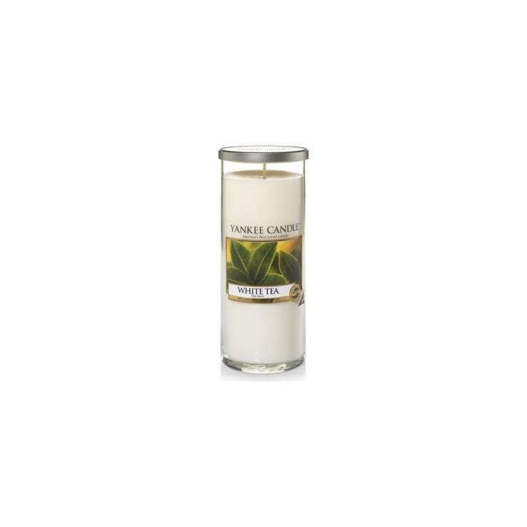 Duży pilar White Tea Yankee Candle