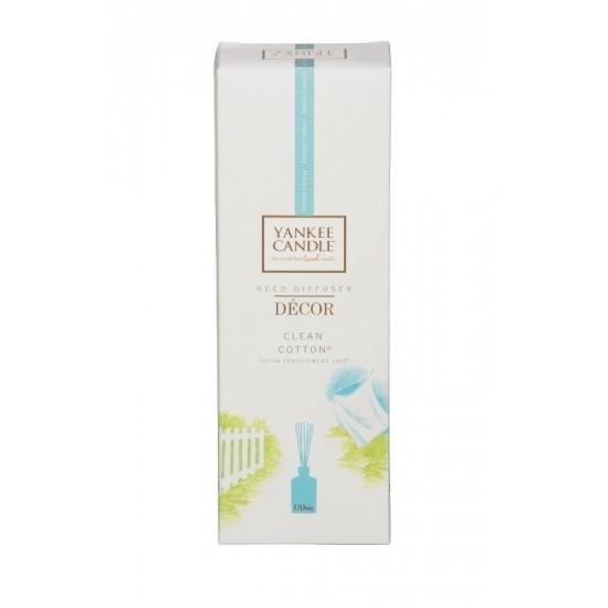 Pałeczki zapachowe decor Clean Cotton Yankee Candle