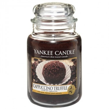 Duża świeca Cappuccino Truffle Yankee Candle
