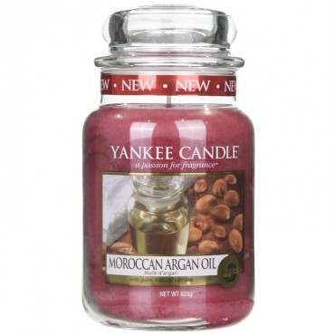 Duża świeca Moroccan Argan Oil Yankee Candle