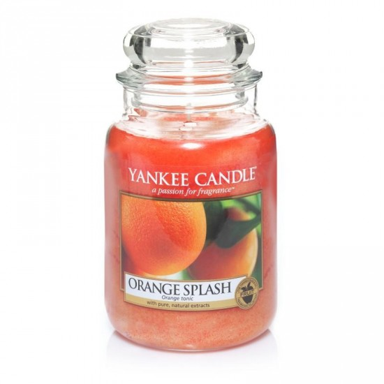 Duża świeca Orange Splash Yankee Candle
