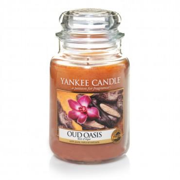 Duża świeca Oud Oasis Yankee Candle