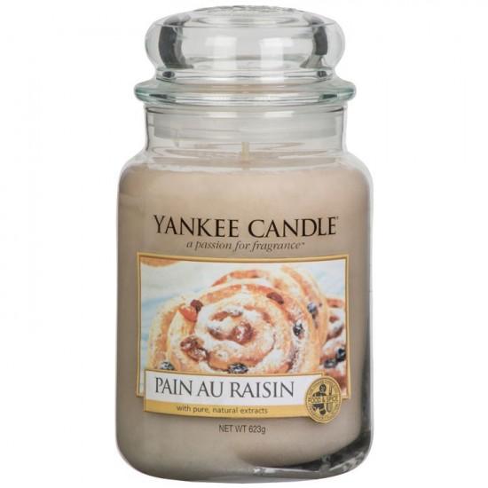 Duża świeca Pain Au Raisin Yankee Candle