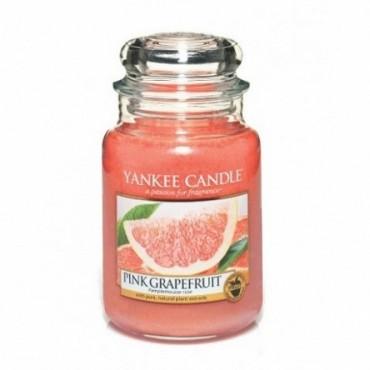 Duża świeca Pink Grapefruit Yankee Candle
