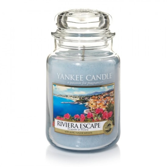 Duża świeca Riviera Escape Yankee Candle