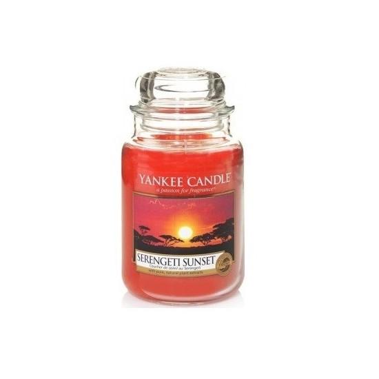 Duża świeca Serengeti Sunset Yankee Candle
