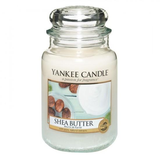 Duża świeca Shea Butter Yankee Candle