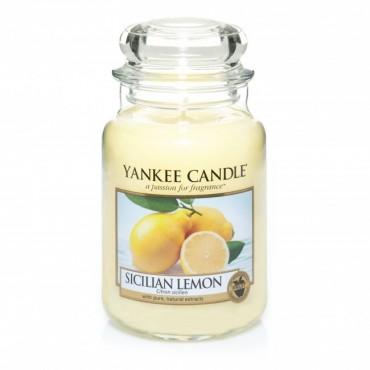 Duża świeca Sicilian Lemon Yankee Candle