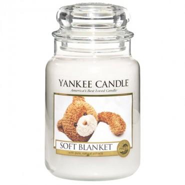 Duża świeca Soft Blanket Yankee Candle