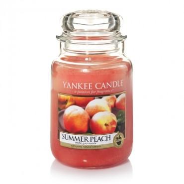 Duża świeca Summer Peach Yankee Candle