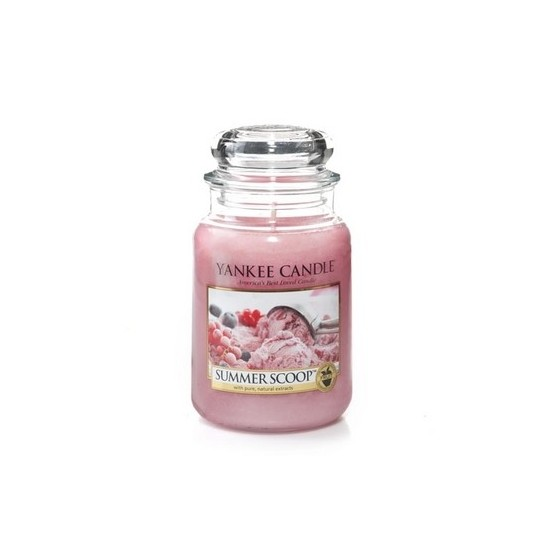 Duża świeca Summer Scoop Yankee Candle