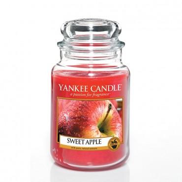 Duża świeca Sweet Apple Yankee Candle
