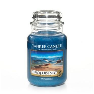 Duża świeca Turquoise Sky Yankee Candle