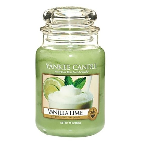 Duża świeca Vanilla Lime Yankee Candle
