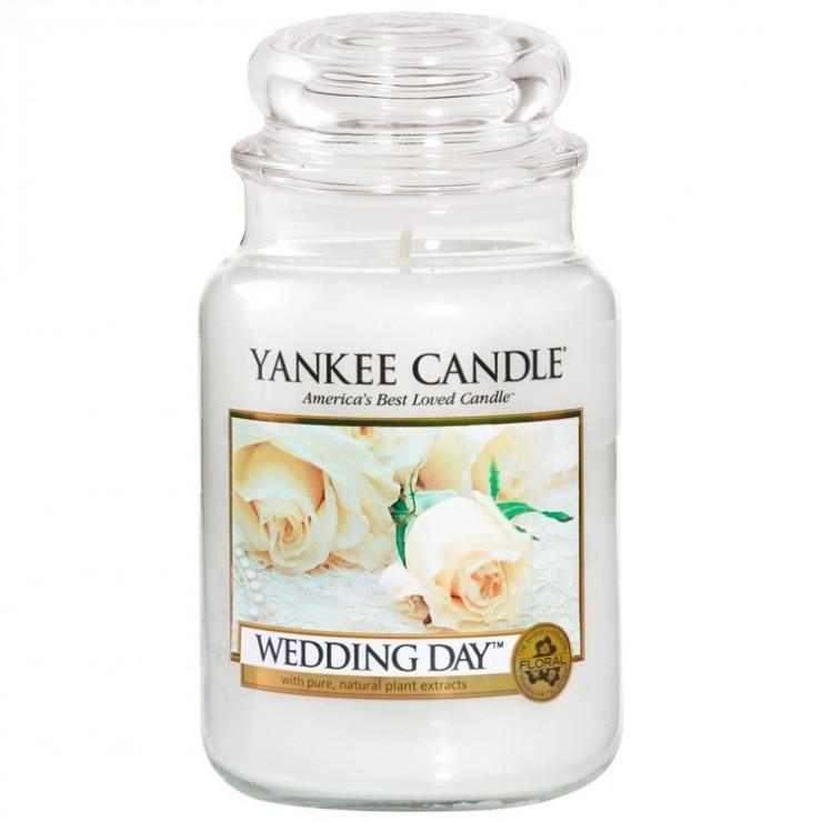 Duża świeca Wedding Day Yankee Candle