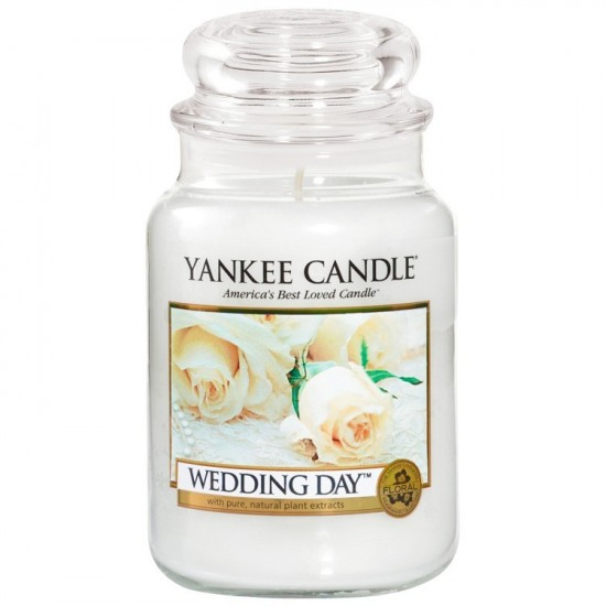 Duża świeca Wedding Day Yankee Candle