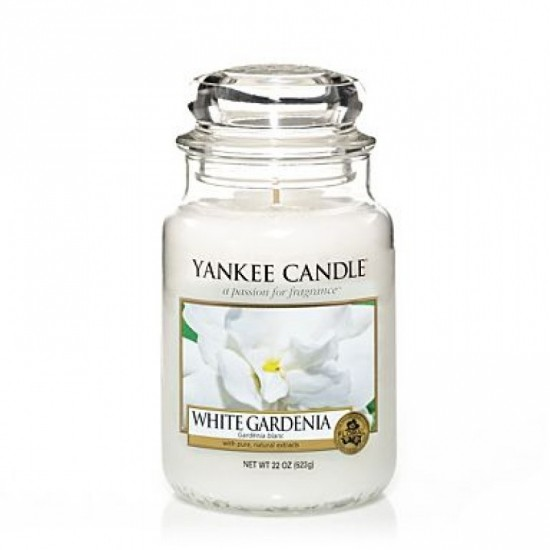 Duża świeca White Gardenia Yankee Candle