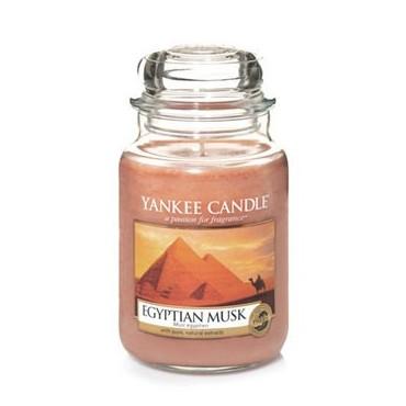 Duża świeca Egyptian Musk Yankee Candle
