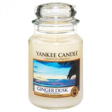 Duża świeca Ginger Dusk Yankee Candle