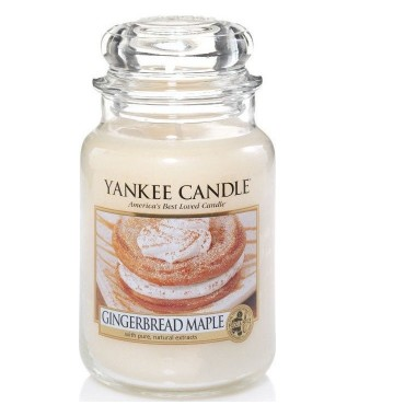 Duża świeca Gingerbread Maple Yankee Candle