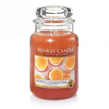 Duża świeca Honey Clementine Yankee Candle