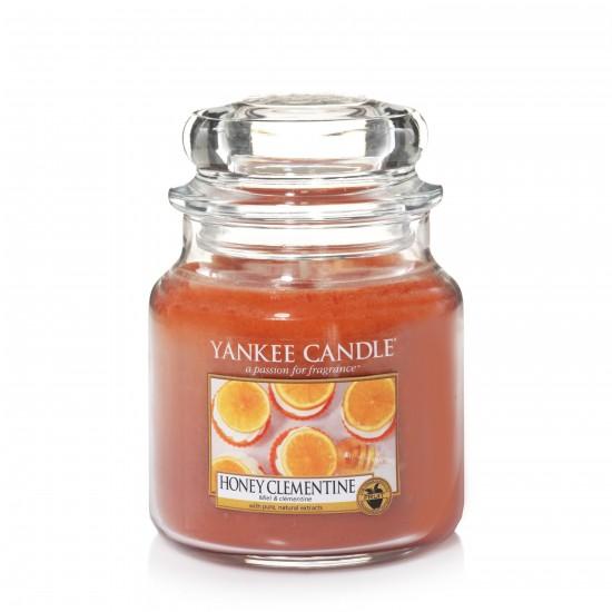 Średnia świeca Honey Clementine Yankee Candle