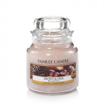 Mała świeca Ebony & Oak Yankee Candle