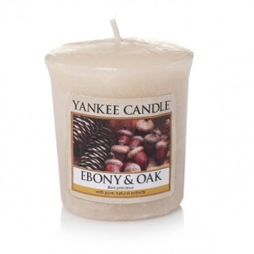 Sampler Ebony & Oak Yankee Candle