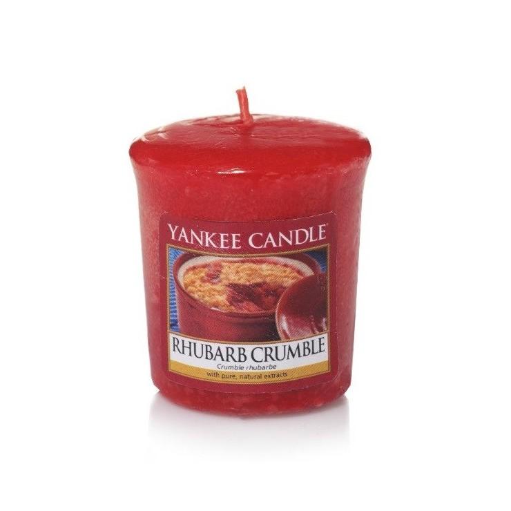 Sampler Rhubarb Crumble Yankee Candle