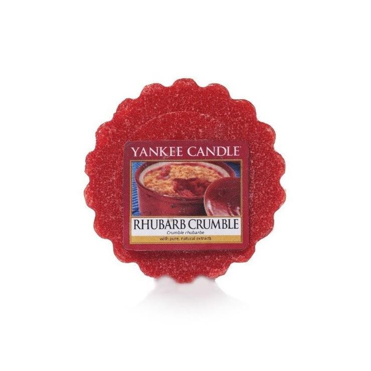 Wosk Rhubarb Crumble Yankee Candle