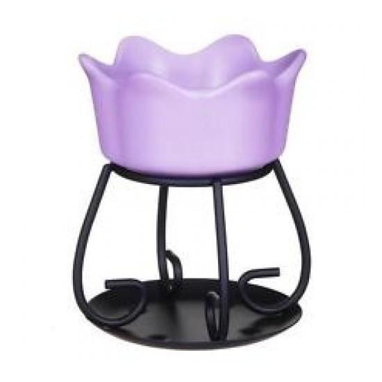 Kominek Petal bowl fioletowy