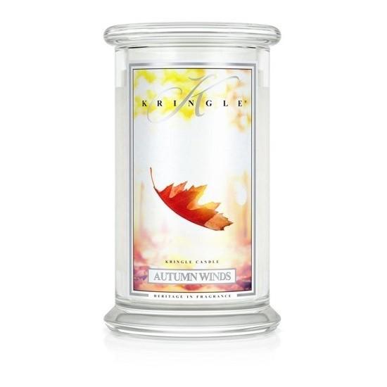 Duża świeca Autumn Winds Kringle Candle