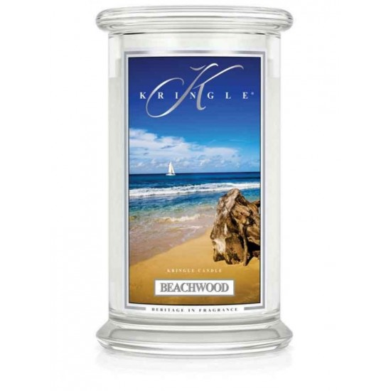 Duża świeca Beachwood Kringle Candle