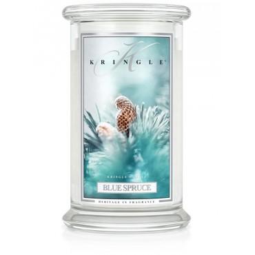 Duża świeca Blue Spruce Kringle Candle