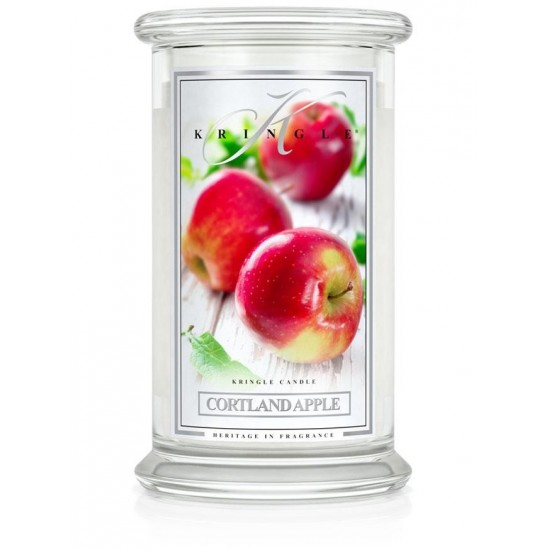 Duża świeca Cortland Apple Kringle Candle