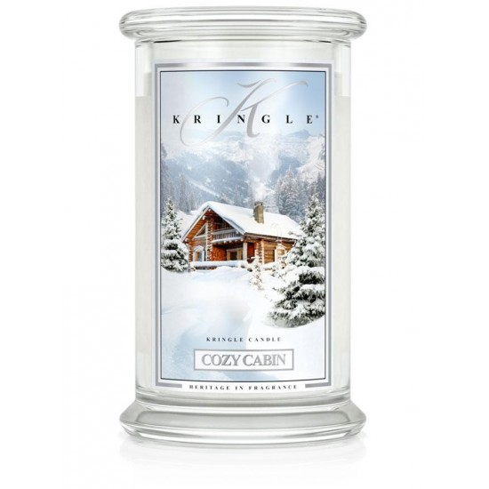 Duża świeca Cozy Cabin Kringle Candle