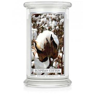 Duża świeca Egyptian Cotton Kringle Candle