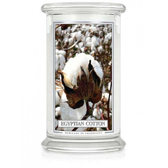 Duża świeca Egyptian Cotton Kringle Candle