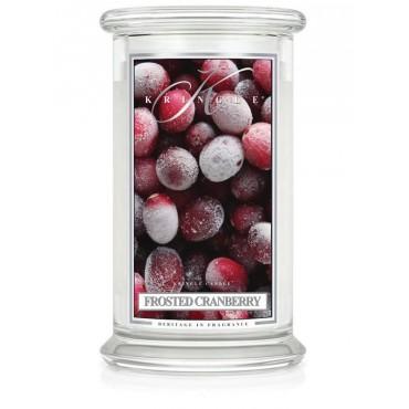 Duża świeca Frosted Cranberry Kringle Candle