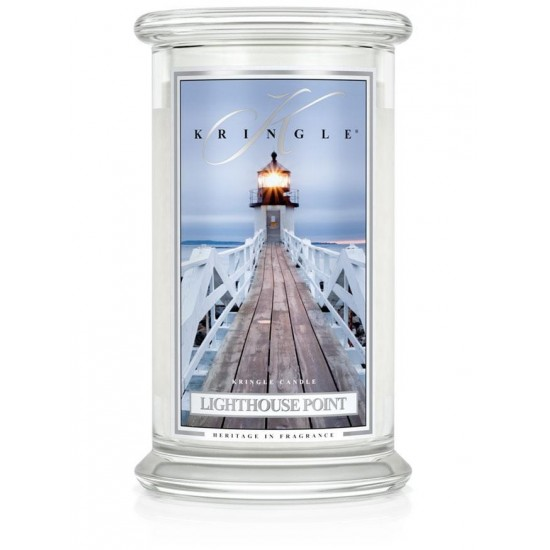 Duża świeca Light House Point Kringle Candle