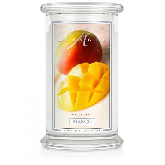 Duża świeca Mango Kringle Candle