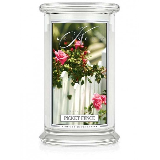 Duża świeca Picket Fence Kringle Candle