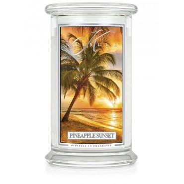 Duża świeca Pineapple Sunset Kringle Candle