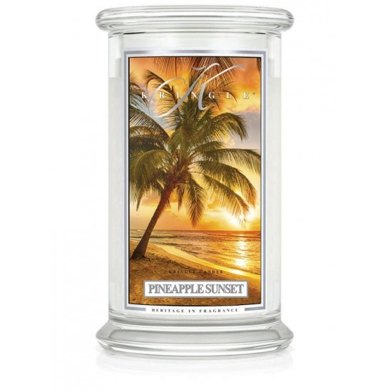 Duża świeca Pineapple Sunset Kringle Candle