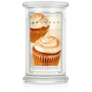 Duża świeca Pumpkin Frosting Kringle Candle
