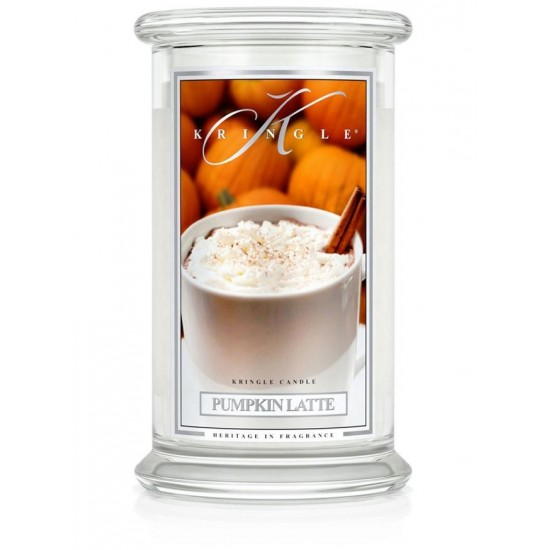 Duża świeca Pumpkin Latte Kringle Candle