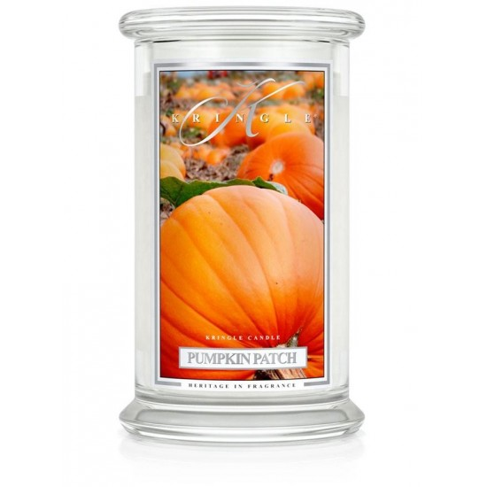 Duża świeca Pumpkin Patch Kringle Candle