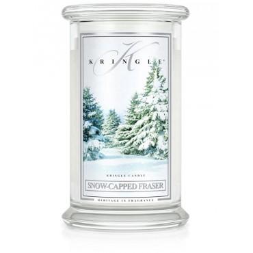 Duża świeca Snow-Capped Fraser Kringle Candle