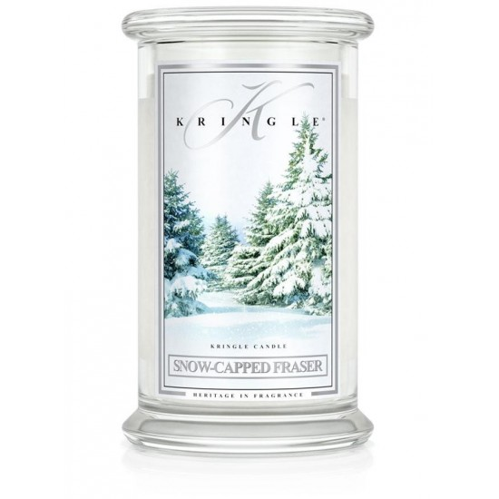Duża świeca Snow-Capped Fraser Kringle Candle